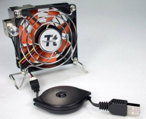 Thermaltake Mobile Fan II External USB Cooling Fan