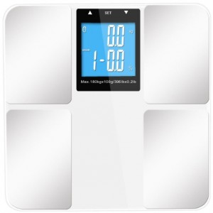 INSEN Precision Digital Body Fat Bathroom Scale