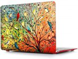 iCasso New Art Fashion Image Series Ultra Slim Light Weight Rubberized Hard Case Glossy Clear Crystal Snap-On Hard Cover Case for MacBook Air