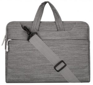 Mosiso Denim Fabric Macbook Air Bag, Shoulder Bag, Briefcase