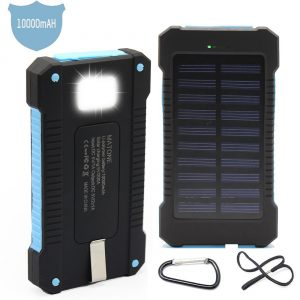 Matone 10000mAh USB Solar Power Bank
