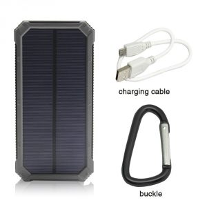 iBeek 12000mAh Solar Power Bank