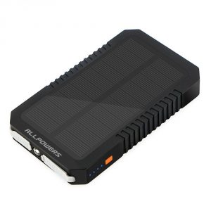 3. ALLPOWERS 12000mAh Solar Battery Charger
