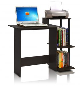Furinno 11192EX/BK Efficient Computer Desk