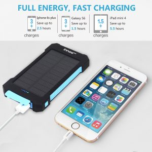 5. Innoo Tech 10000mAh USB Solar Charger