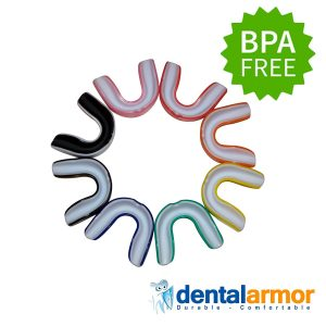 Dental Armor Sport Mouth Guard by Sparkling White Smiles