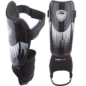 Youth sizes-soccer shin guards by Dashsport Guardian model